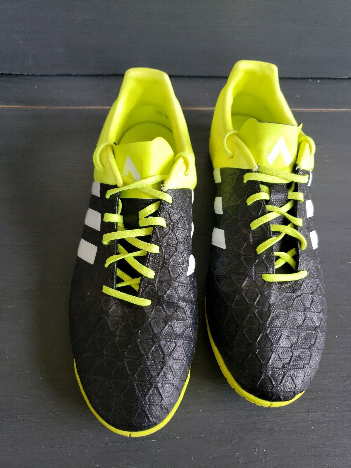 Adidas Ace 15.4 IN Mens Black \u0026 Neon