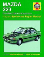 haynes manual 3455 mazda 323 1989 1998 ebay rh ebay com 1990 mazda 323 workshop manual 1989 mazda 323 workshop manual
