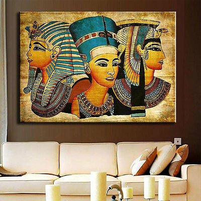 Egyptian Pharaoh Canvas Wall Art Painted Print Oil Painting For Home Decoration