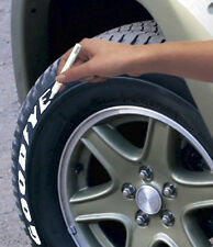 Sumex White Wall Car & Motorbike Rubber Wheel Tyre Dressing Lettering Paint Pen