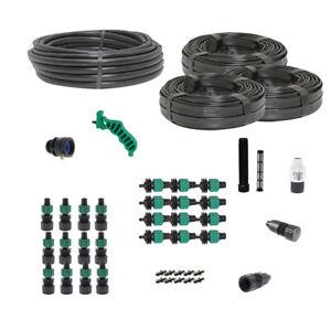 Truck Farmers Garden Drip Tape Irrigation Kit Soaker Hose 40 Rows