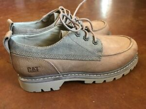 NEW-CATERPILLAR-CAT-MEN-039-S-LINEAGE-LO-CANVAS-AND-LEATHER-BOOT-9M-FREE-SHIP