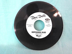 Details about Big J J  - Harpsichord Blues / Norma Tracey - Leroy, Day Dell  1005, 7