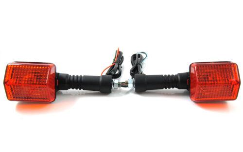Front Pair Turn Signal Indicator Blinker for Honda NX125 NX250 NX650
