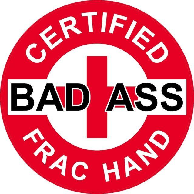 Frac Prayer   HIGH QUALITY Oilfield Hard Hat Sticker