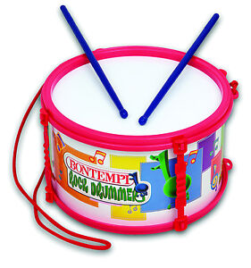 MARCHING-DRUM-MD2540-Classic-Kid-039-s-Toy-FREE-SHIP-USA-BONTEMPI-Instruments