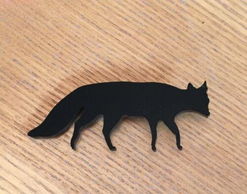 Black Fox Brooch Gift