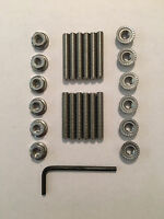 Mopar Big Block V8 Stainless Steel Valve Cover Stud Kit And Wrench 1.5 Long