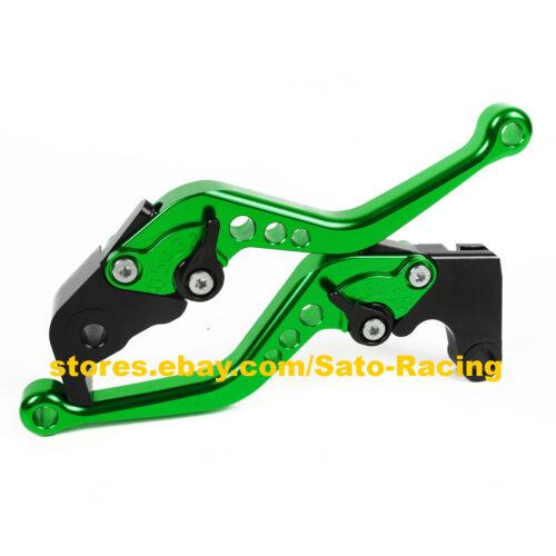 CNC Adjustable Brake Clutch Levers Set For Kawasaki ZRX1100//1200 1999-2007