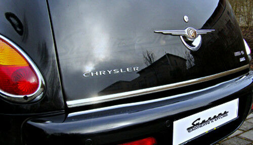 Chrysler PT Cruiser cabrio Chrome Moulage 3M Mise au Point Moulure de Coffre