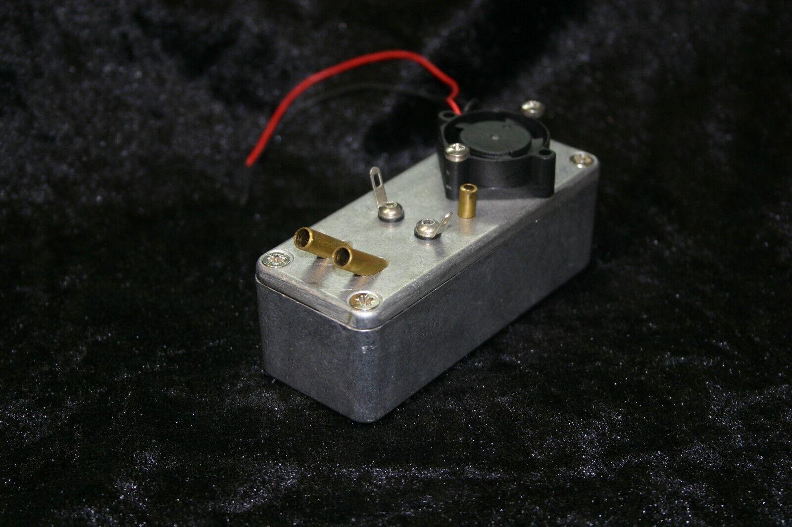 Duo di produttori di fumo generatore di vapore e affumicatore per F. ad esempio Tamiya 6v 7,2v... 12v, ecc