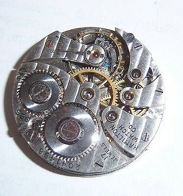 HAMILTON 986 MOVEMENT DIAL AND HANDS