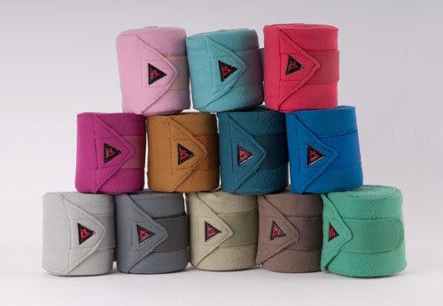 Totectors lot de 4 fleece bandages-toutes les couleurs en boîte de présentation cadeau idéal
