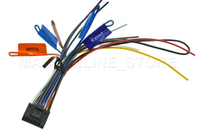 kenwood dnn-990hd dnn990hd oem genuine wire harness