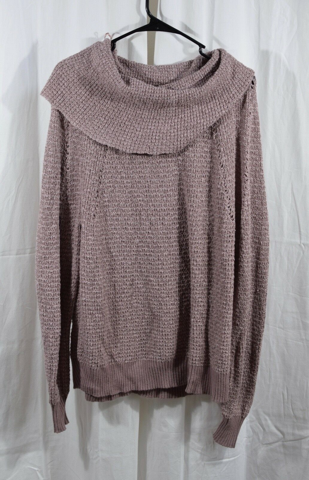 Free People By Your Side Sweater Purple Size XS