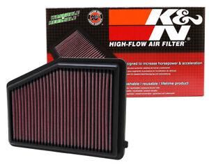 33-2468-K-amp-n-Reemplazo-Filtro-De-Aire-Honda-Civic-L4-1-8L-F-I-2012-2015-panel-Kn