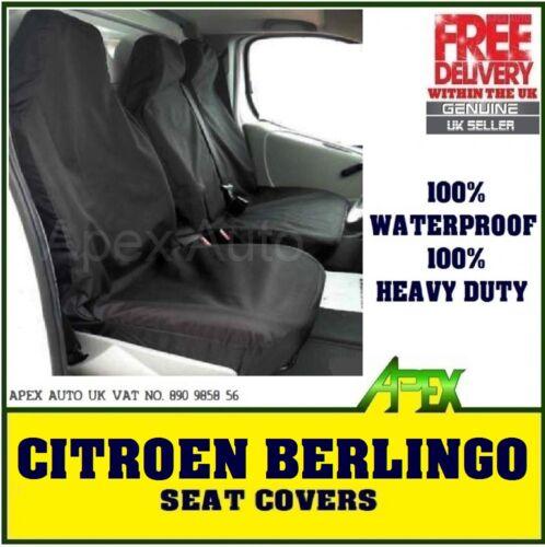 CITROEN BERLINGO 2+1 Van Seat Custom Covers protectors 100/% WATERPROOF