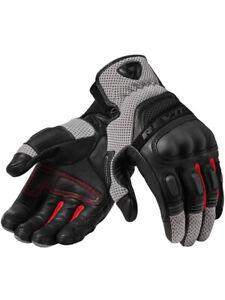 Motorcycle Gloves Rev It Dirt 3 Black Grey Size L Ebay