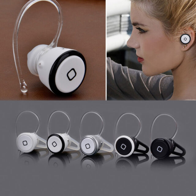 Cute Smallest Mini Wireless Bluetooth V3.0 Headset Headphone Handfree Universal