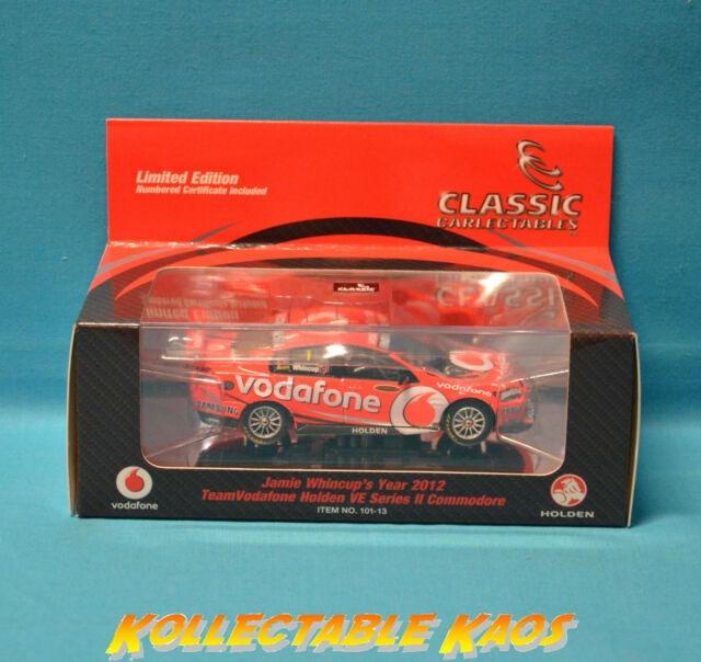 1:43 Classics - 2012  VE  Commodore - Whincup REDUCED - LE 1000