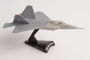Avion-de-combate-escala-Diecast-Delprado-F22-Lightning-Ii-1-145-AVI034