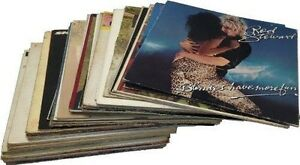 Craft-LOT-of-25-12-034-LP-VINYL-Record-albums-COVERS-ONLY-Party-Decorations