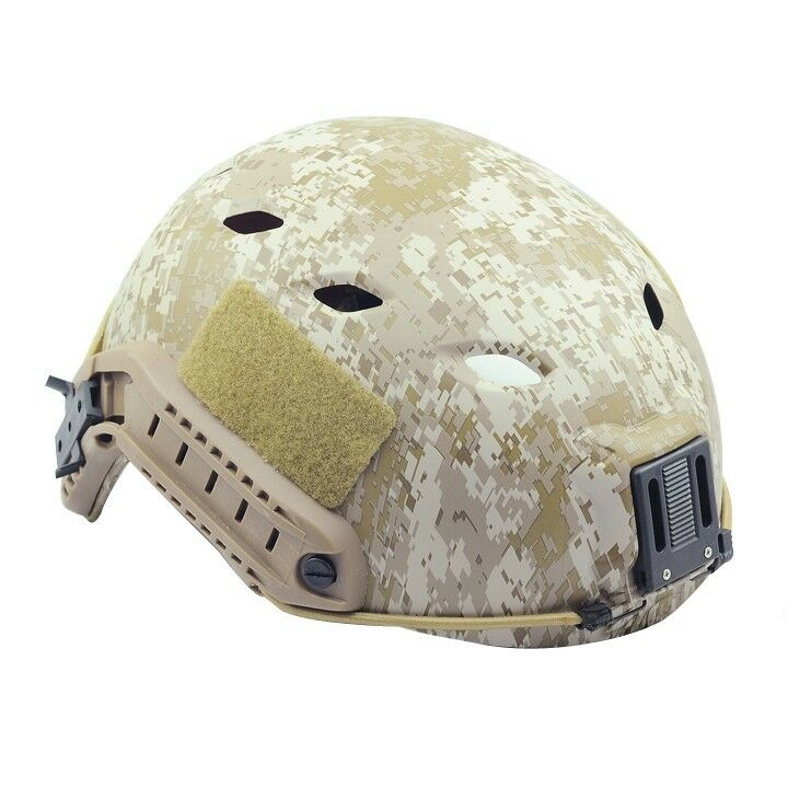 COOL New Airsoft GS Predective FMA Base Jump Helmet Digital Desert PA475L XL