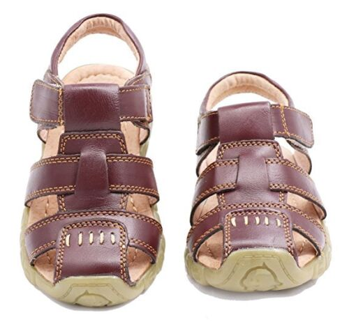 Hot!Boy's ToddlerLittle Kid Leather Closed Toe Outdoor Sport Sandal Beach Shoes