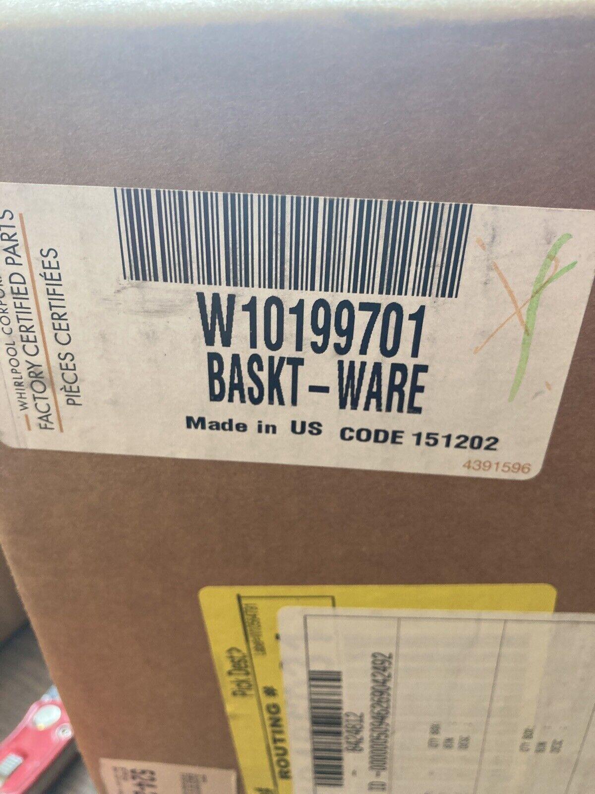 OEM Part Whirlpool W10179397 Dishwasher Silverware Basket Genuine Original Equipment Manufacturer