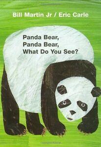Panda Bear, Panda Bear, What Do You See? Board Book by Bill Martin Jr.