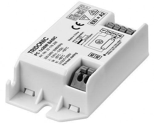 TRIDONIC DIGITAL BALLAST PC 1x26 WATT COMPACT FLUORESCENT 2D/PL 26W/28W 22176208