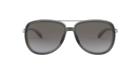 Oakley Women Oo4129 58 Split Time Sunglasses 58mm Onyx Black Grey Gradient
