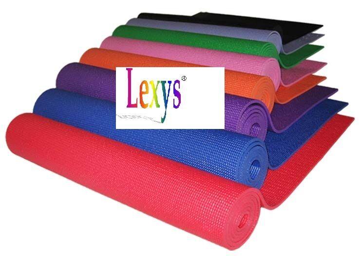 5 5 5 x Yogamatte Gymnastikmatte Pilatesmatte Sportmatte Fitnessmatte 170x60x6mm cacd72