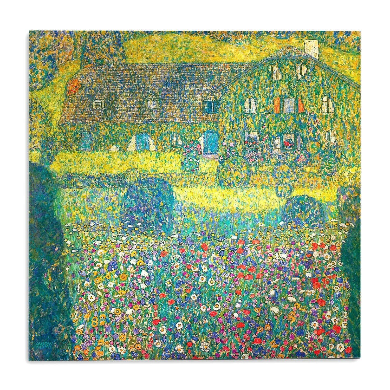 Impression sur verre acrylique en plexiglas - Gustav Klimt - La maison du forest