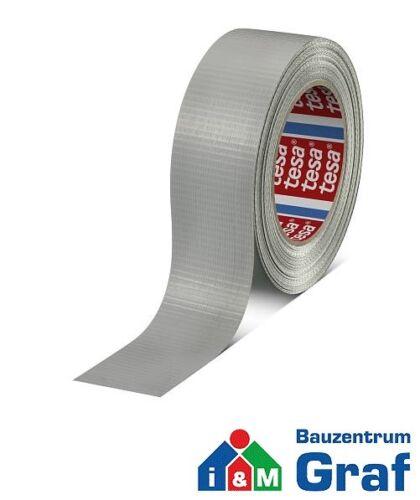 Tesa 4662 Standard Duct Tape ADHESIF steinband Mattsilber 50 m x 36 mm #870816
