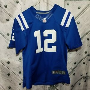 NIKE-Indianapolis-Colts-Andrew-Luck-Youth-Boys-Size-Large-XL-Jersey-NFL-Sewn-12