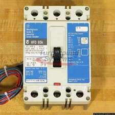 Cutler-Hammer HFD3015L A09 Circuit Breaker, 15 Amp, 65 kAIC, 2A/2B Aux Sw, Used