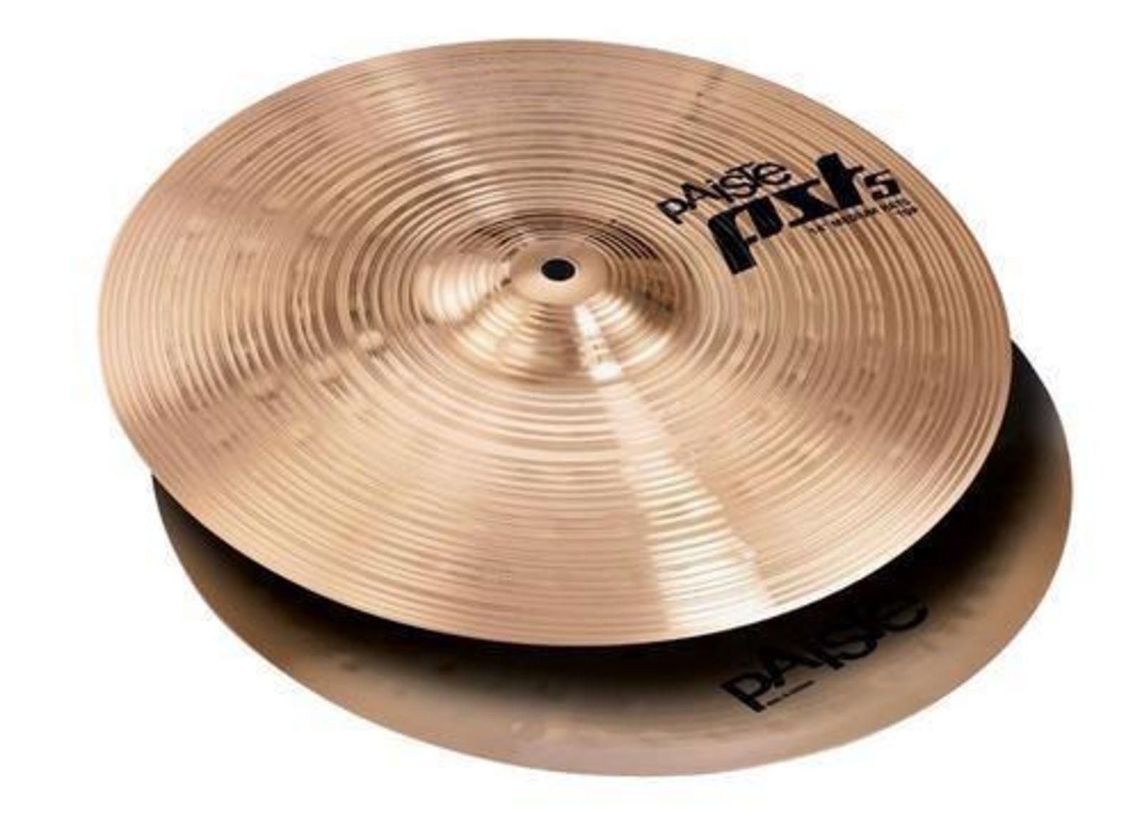 PAISTE 14  PST 5 MEDIUM HI HAT BATTERIA bacino 35,56 cm percussioni drum cymbals