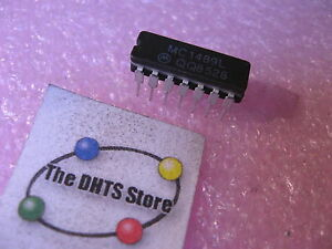 MC1489L-Motorola-Quad-Line-Receiver-IC-Ceramic-NOS-Qty-1