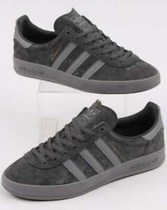 consumo Molestia Creación  Adidas Broomfield entrenadores en ante gris-Old Skool Retro ...