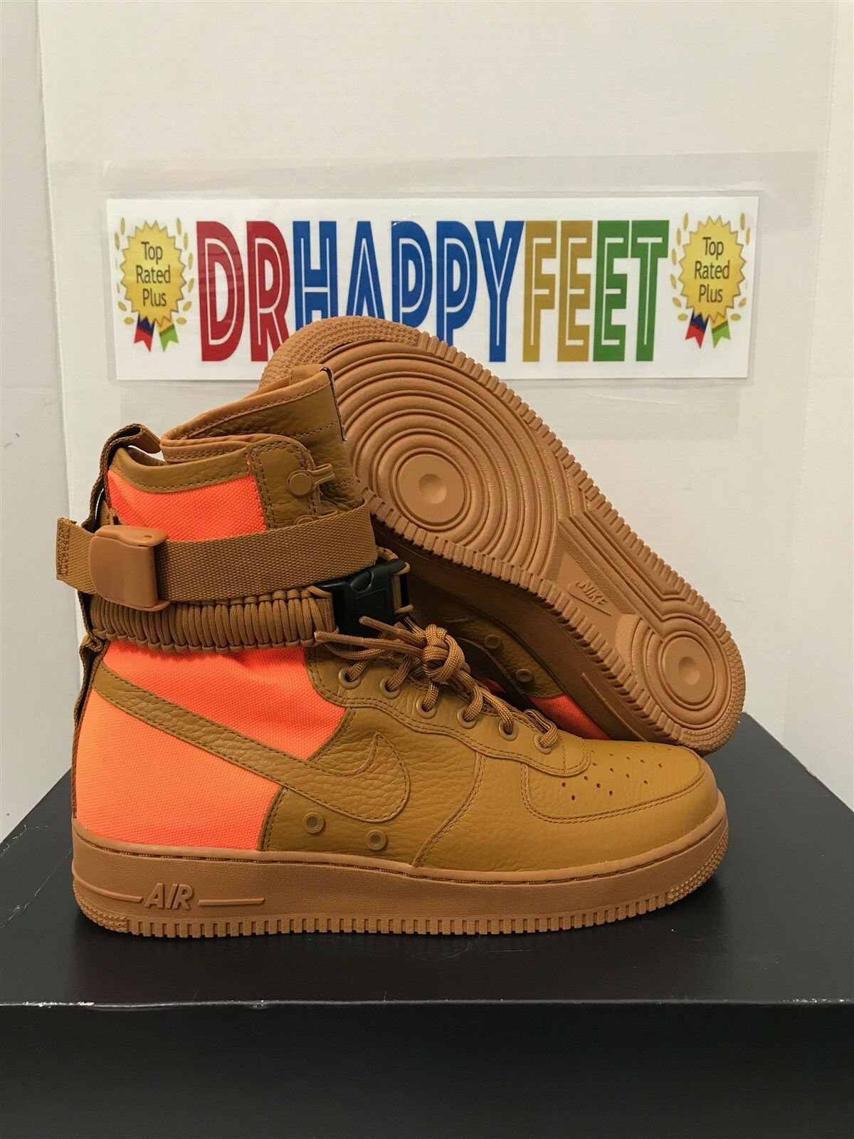 Nike SF AF1 QS Desert Ochre Special Field Air Force 1 Mens Size 903270 778
