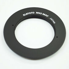 Elefoto M42 Lens to Sony Alpha Minolta MA AF Adapter A57 A77 A99 A390 A580 A900