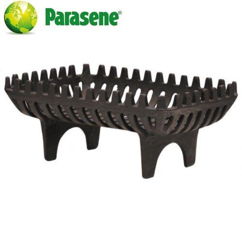 Log Panier Feu Grille Fonte Charbon Bois Titulaire Heavy Duty nouvelle par Parasene