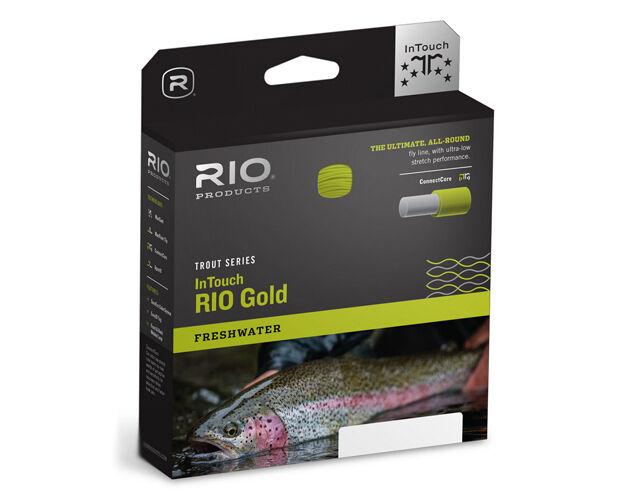 Rio InTouch oro Fly Line gratuito SHIPPING   Streams of Dreams Fly negozio
