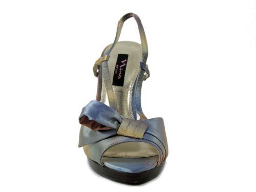 Tie 9 Sandals Evalora Multi Slingback M 93412726545 Women's Satin Nina Taglia 8wTqY4nU