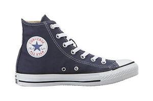 Détails sur Converse Chuck Taylor All Star Hi Chaussures En Toile Classique Bleu Femmes Tailles M9622 afficher le titre d'origine