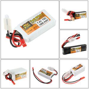 ZOP-Power-7-4V-14-8V-400mAh-2200mAh-2S-4S-Lipo-Batterie-Pour-RC-Modele-Emetteur