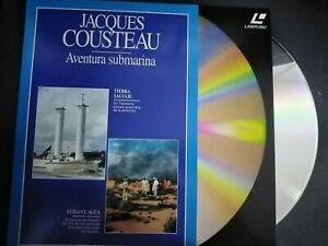 Jacques-Cousteau-Adventure-Underwater-Laser-Disc-Earth-Wild-Y-Fire-Y-the-Water
