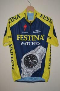 ebdabfffe Image is loading RETRO-FESTINA-WATCHES-SPECIALIZED-BLUE-amp-YELLOW-CYCLING-