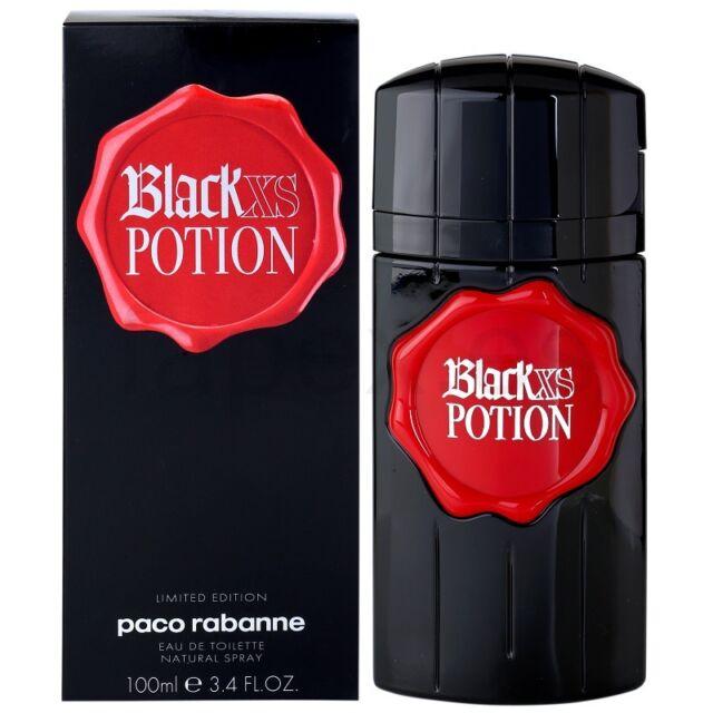 BLACK XS POTION   EAU DE TOILETTE  100ML.    PACO RABANNE